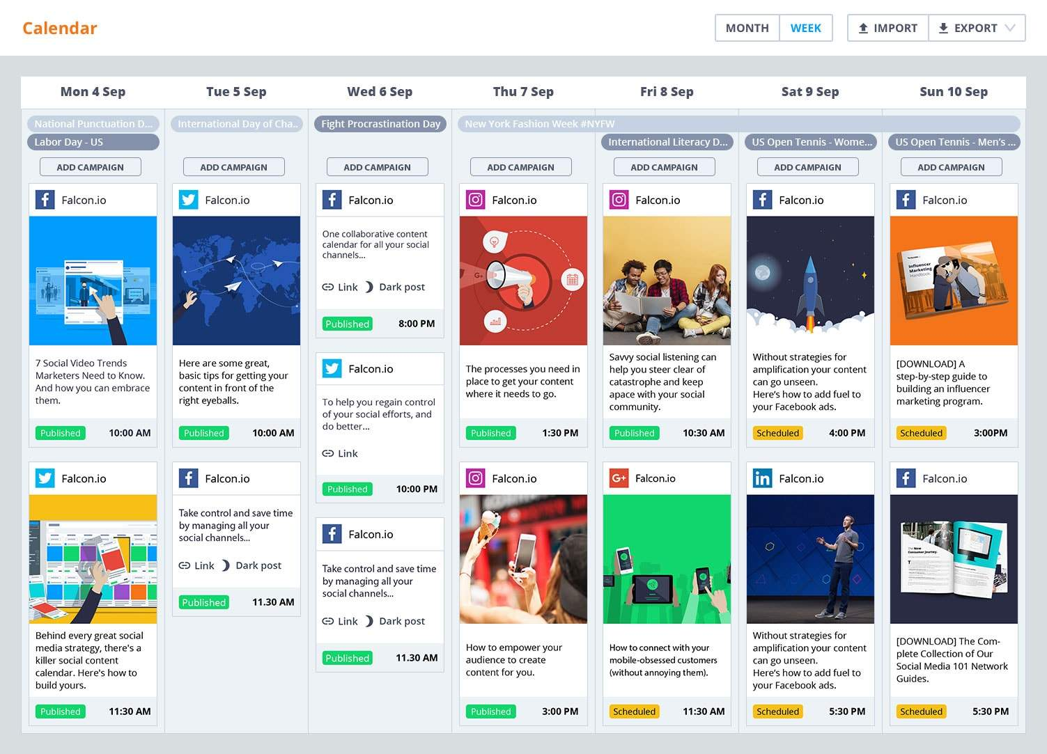 Publish-Staying on Track With A Social Media Content Calendar by Maverick MediaHero